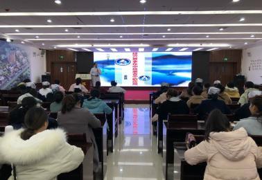 德江县民族中医院举行《经穴推拿在中风患者中的应用》专题讲座