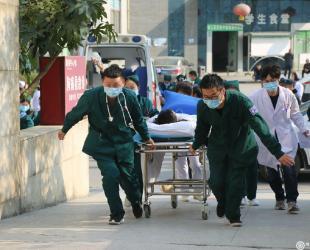 德江县民族中医院举行一氧化碳中毒应急演练