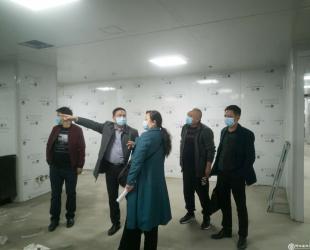 铜仁市卫生健康局到德江县民族中医院督导发热门诊建设和疫情防控物资储备工作